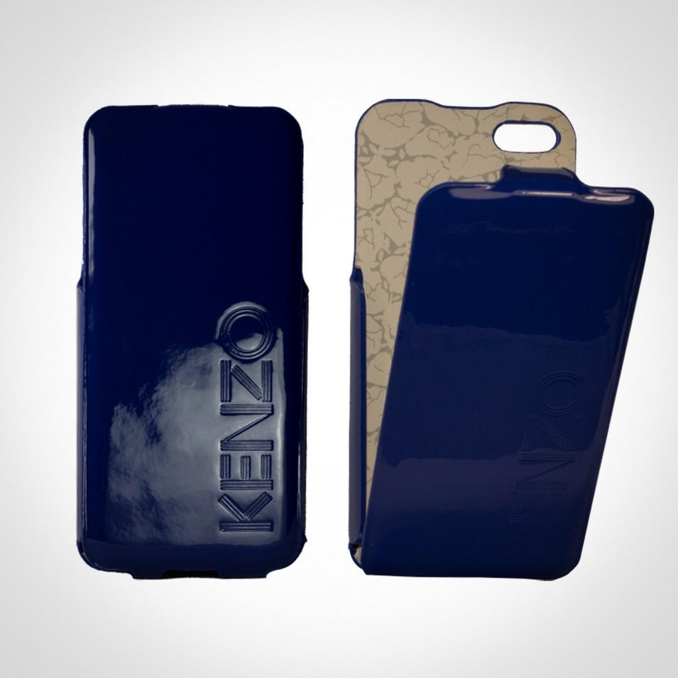 KENZO Glossy系列 iPhone5 亮面皮革保護套(藍) | 設計 | Citiesocial