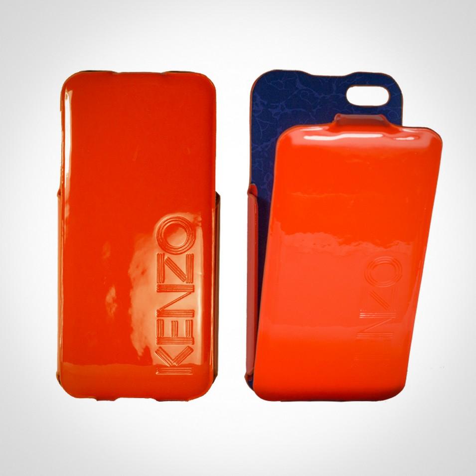 KENZO Glossy系列 iPhone5 亮面皮革保護套(橘) | 設計 | Citiesocial