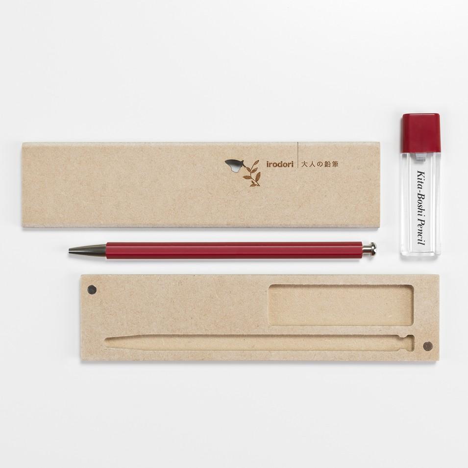 北星鉛筆株式会社 大人的鉛筆~彩紅色 木質筆盒組 | 設計 | Citiesocial
