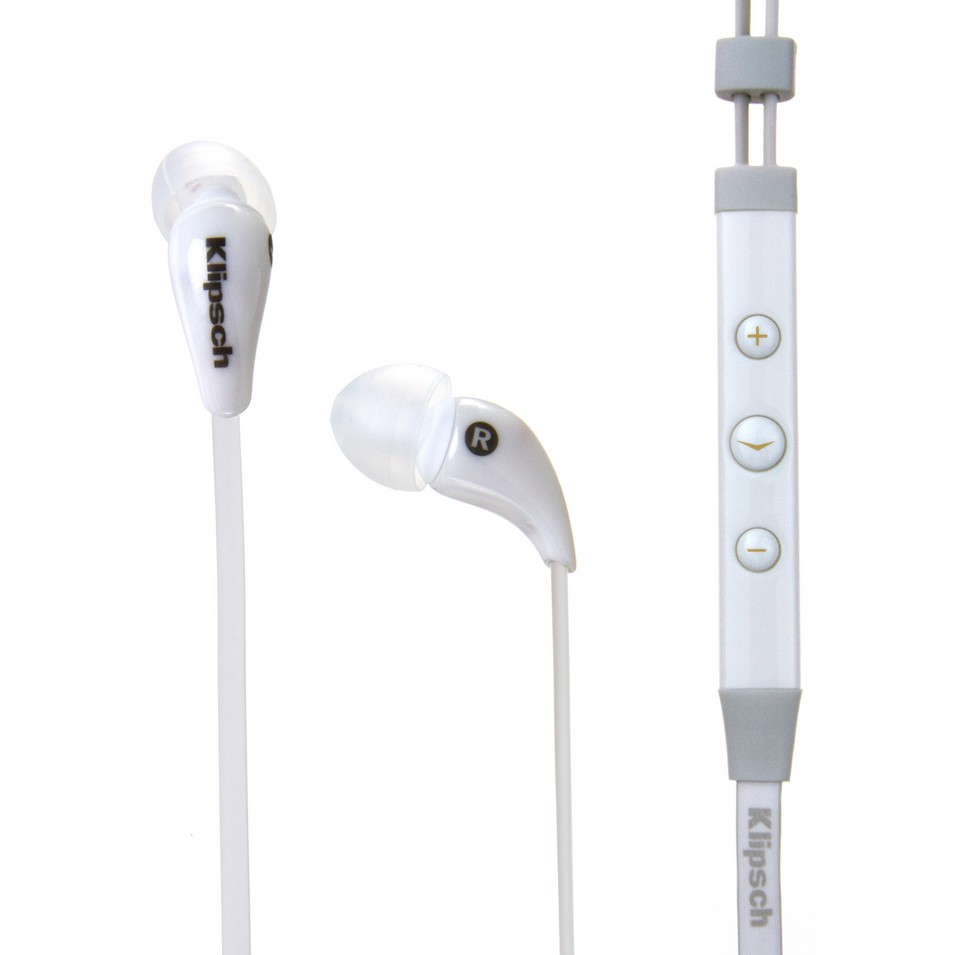 Klipsch Image X7i White In-Ear Headphones | 設計 | Citiesocial
