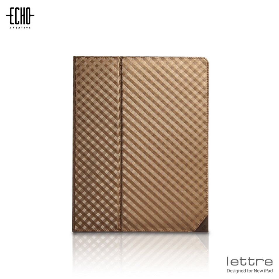 ECHO CREATIVE 時尚3C配件 Lettre ╳New iPad-棕 | 設計 | Citiesocial