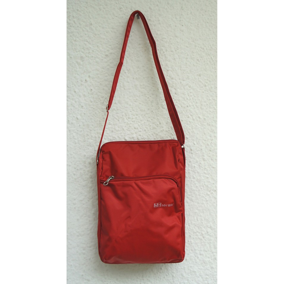 MH WAY 時尚包 Allegra front pocket bag(紅) | 設計 | Citiesocial