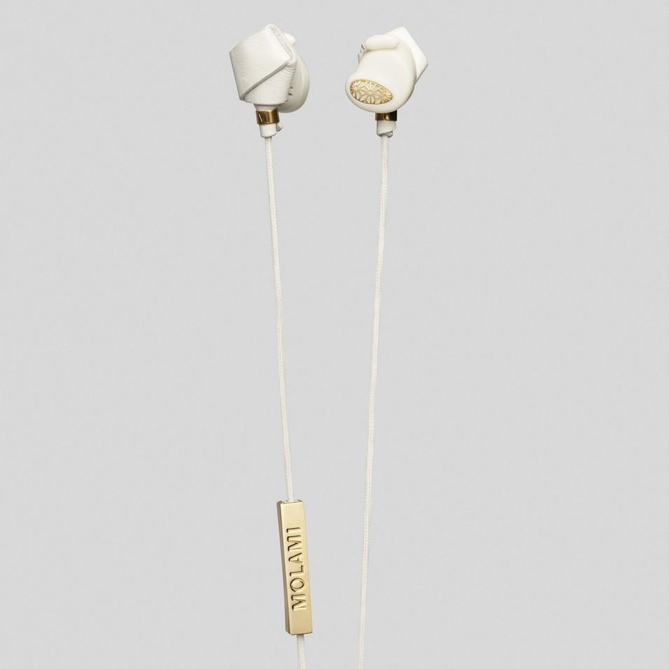 Molami 專屬女性時尚耳機 BIGHT 專利耳塞式耳機 (白金) | 設計 | Citiesocial