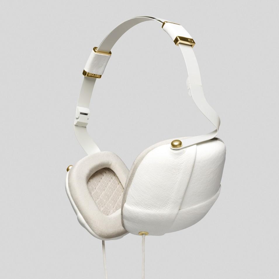Molami 專屬女性時尚耳機 PLEAT 耳罩式耳機 (白金) | 設計 | Citiesocial