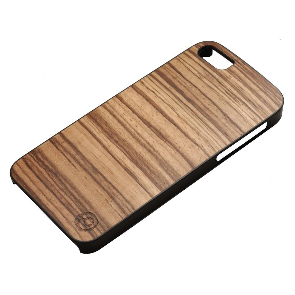 Man&Wood iPhone5保護殼Zebrano(黑邊) | 設計 | Citiesocial