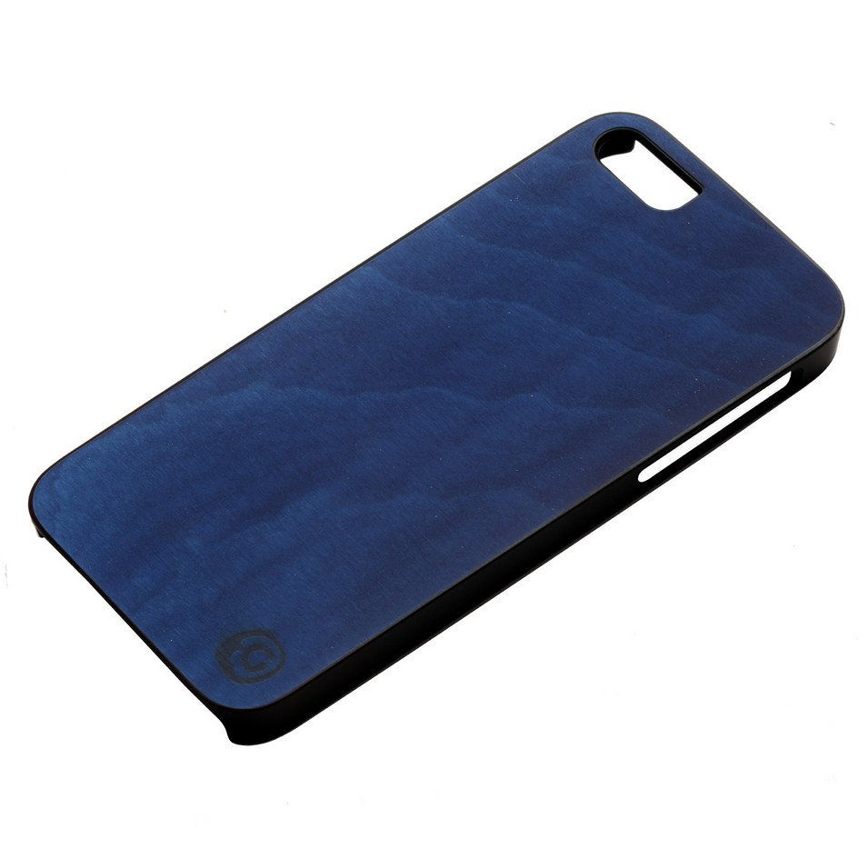 Man&Wood iPhone5保護殼Midnight blue(黑邊) | 設計 | Citiesocial