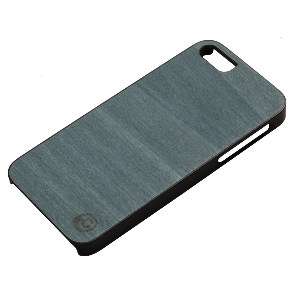 Man&Wood iPhone5保護殼Bolivar blue(黑邊) | 設計 | Citiesocial