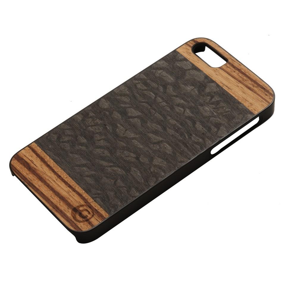 Man&Wood iPhone5保護殼Cacao(黑邊) | 設計 | Citiesocial