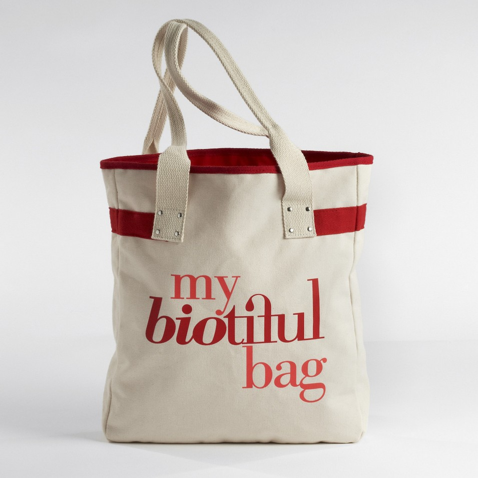 My Biotiful bag 法國有機棉-TOTE BAG-紅 | 設計 | Citiesocial