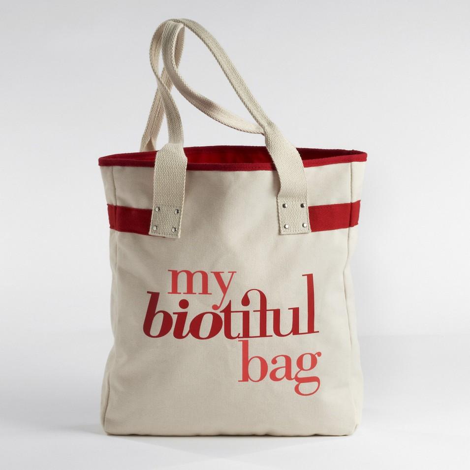 My Biotiful bag 法國有機棉-TOTE BAG-紅 | 設計 | Citiesocial