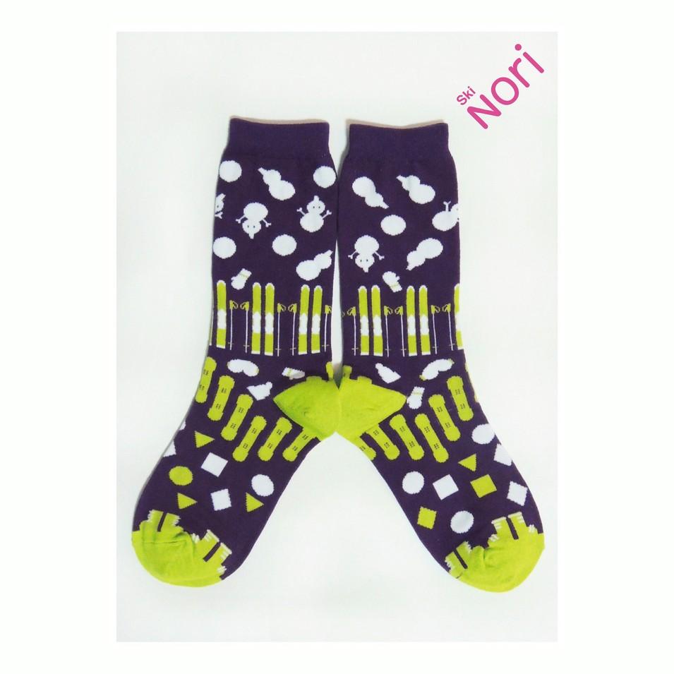 NORI SOCKS 2013 no.1 滑雪款(紫色) | 設計 | Citiesocial