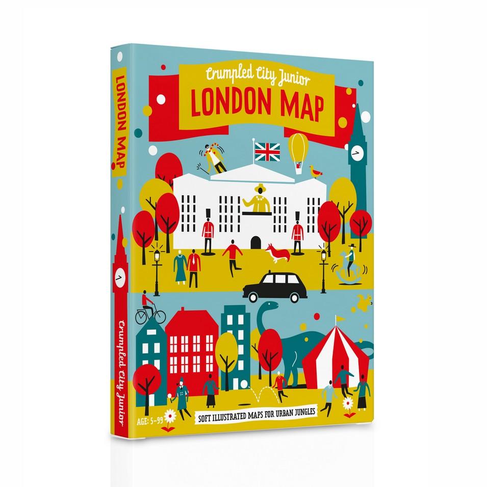 Palomar 揉一揉地圖兒童版(倫敦) | 設計 | Citiesocial