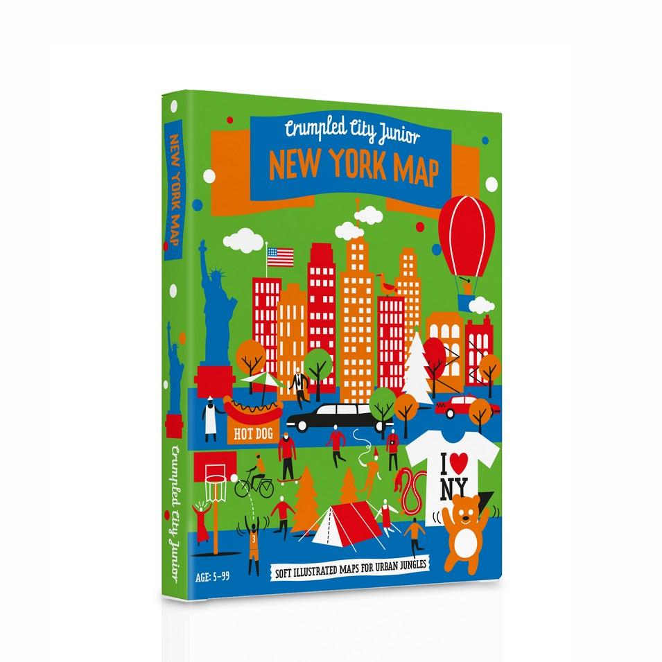 Palomar 揉一揉地圖兒童版(紐約) | 設計 | Citiesocial