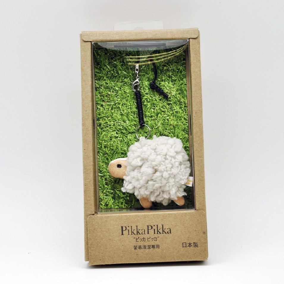 Pikka Pikka 超細纖維小綿羊手機清潔掛飾 | 設計 | Citiesocial