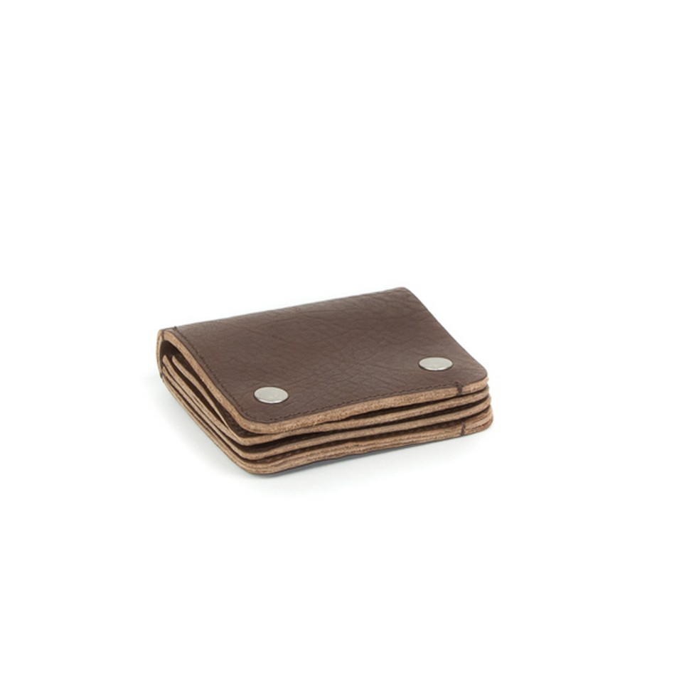 Property of Davey small wallet_dk brown | 設計 | Citiesocial