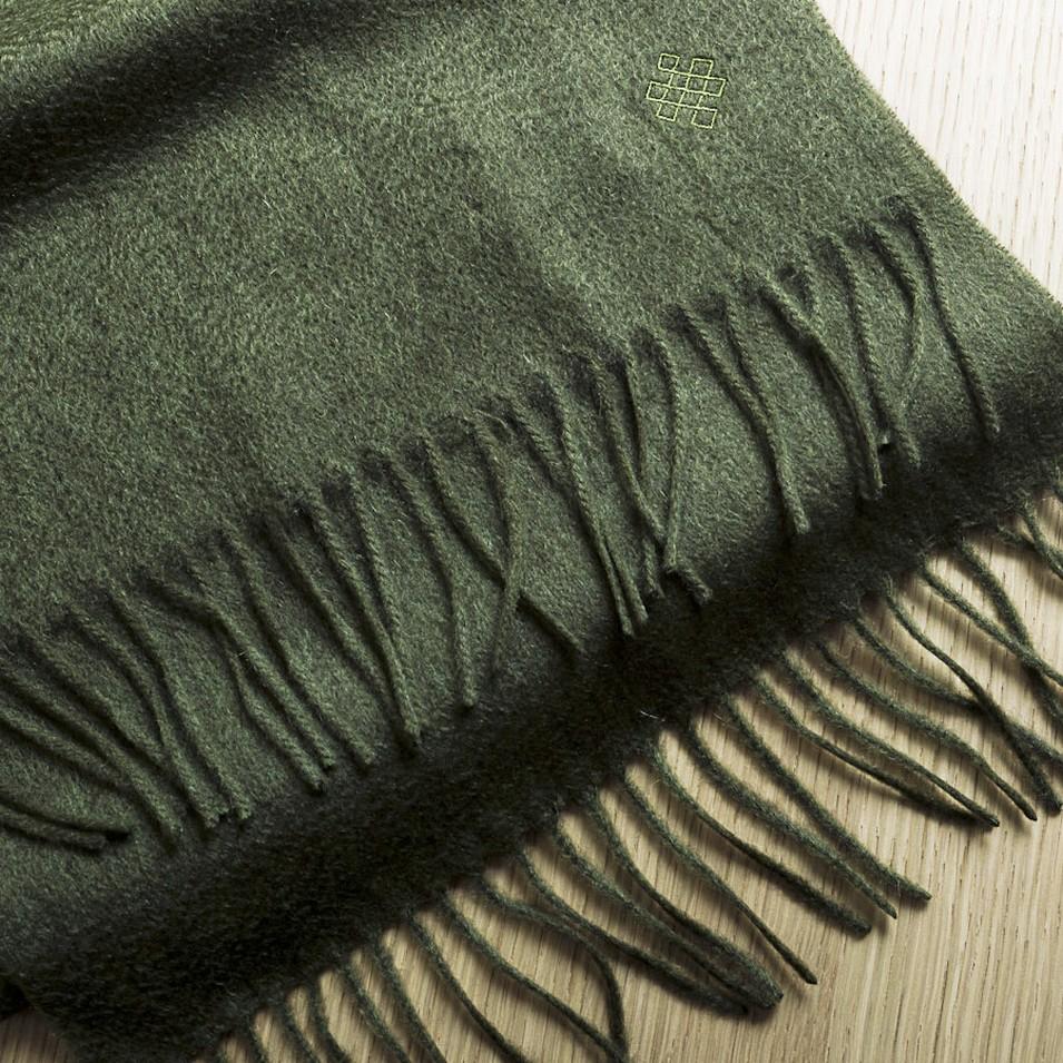 SHOKAY 絲原圍巾 Serene Scarf(軍綠) | 設計 | Citiesocial