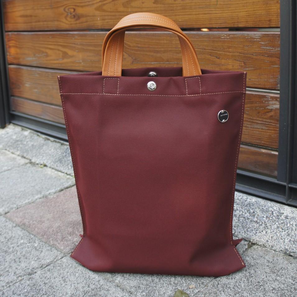 dothebag 敞篷車軟頂帆布-購物袋-暗紅 | 設計 | Citiesocial