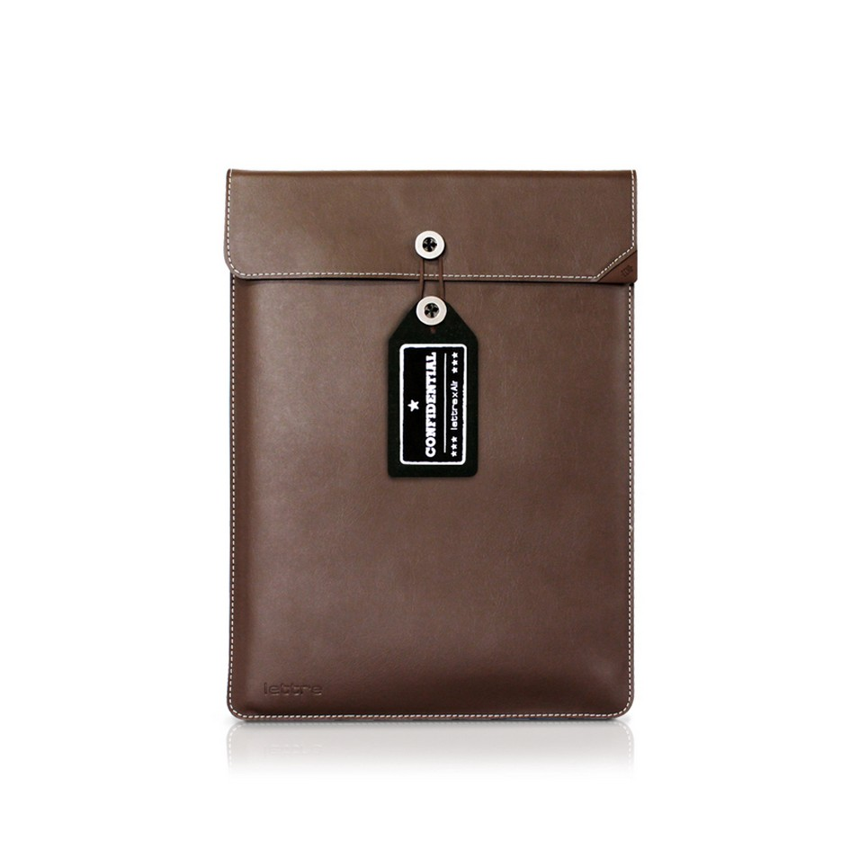 ECHO CREATIVE  時尚3C配件 lettre╳Air 保護套11吋(棕) | 設計 | Citiesocial