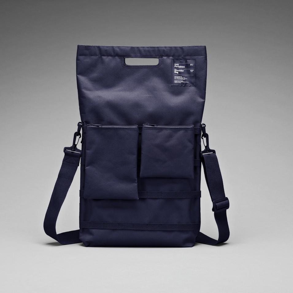 Unit Portables 由你包 Unit 01/02/03 15吋電腦肩包-海軍藍 | 設計 | Citiesocial