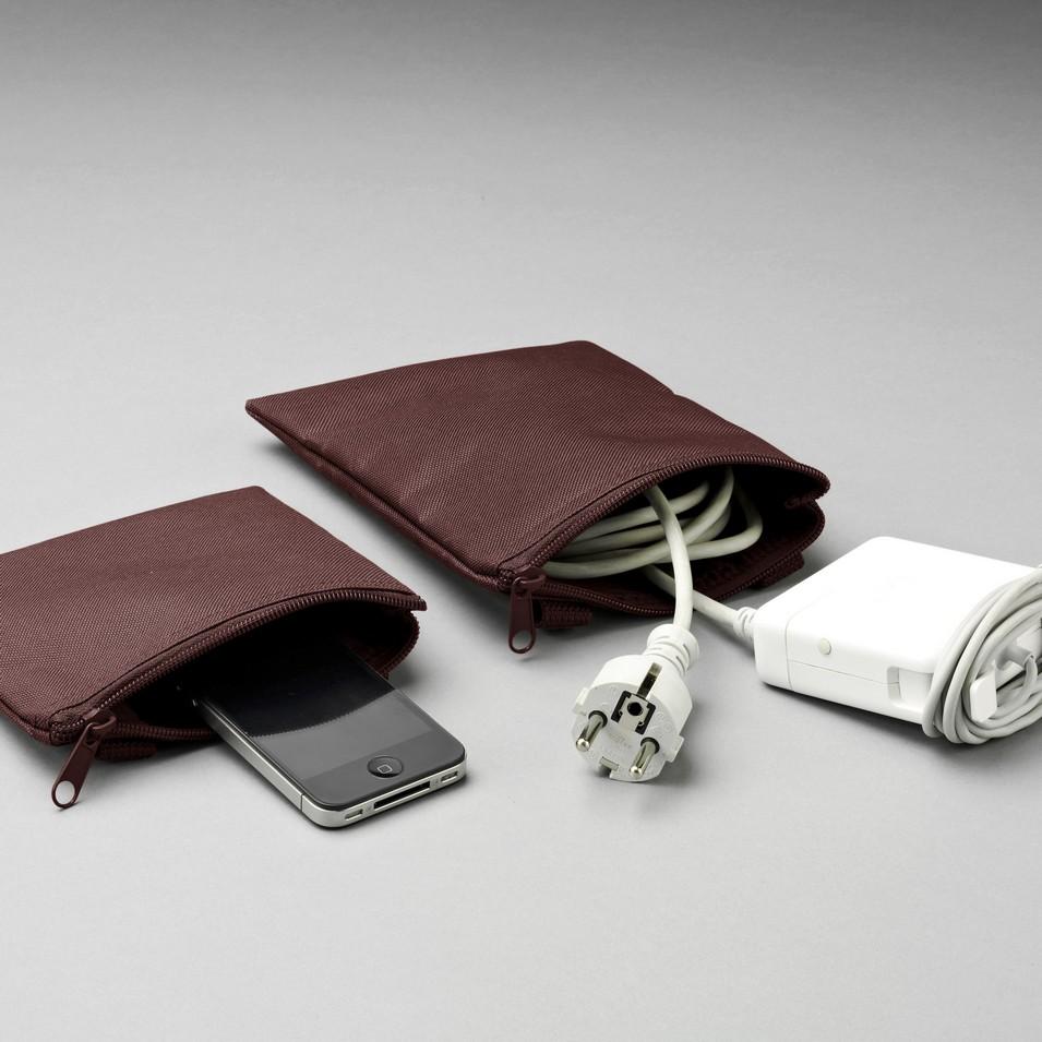 Unit Portables 由你包 Unit 02/03 配件袋-棗紅色 | 設計 | Citiesocial