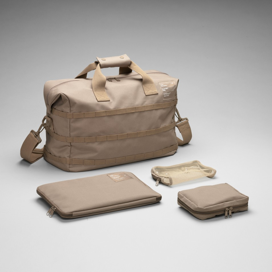 Unit Portables 由你包 Unit 05/06/07/08 15吋旅行袋-卡其色   設計   Citiesocial