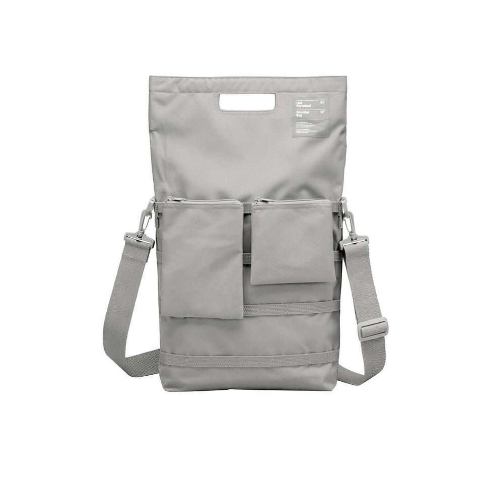 Unit Portables 由你包 Unit 01/02/03 13吋電腦肩包(陰雨灰) | 設計 | Citiesocial