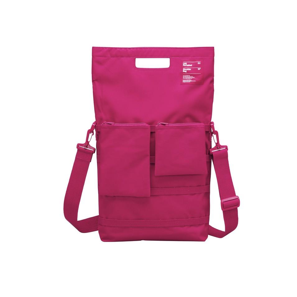 Unit Portables 由你包 Unit 01/02/03 15吋電腦肩包(玫瑰紅) | 設計 | Citiesocial