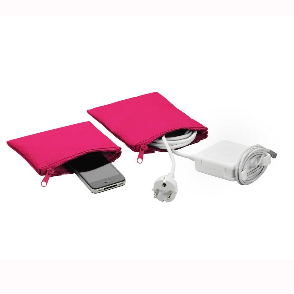 Unit Portables 由你包 Unit 02/03 配件袋(玫瑰紅) | 設計 | Citiesocial