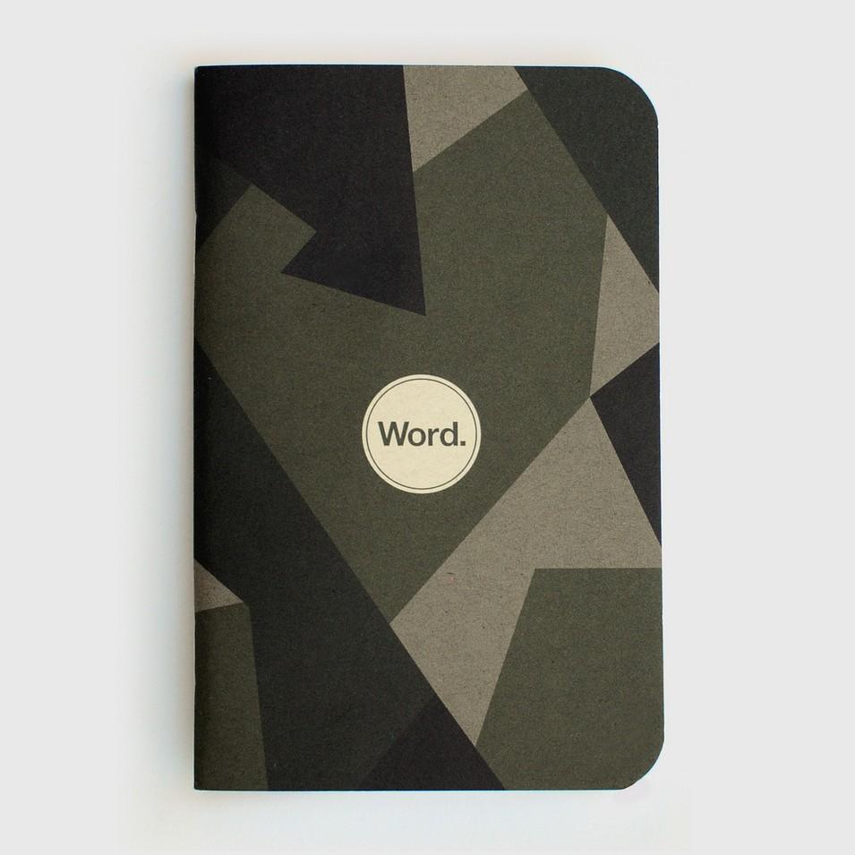 Word. Notebooks 待辦事項清單本-瑞典迷彩(三入裝) | 設計 | Citiesocial