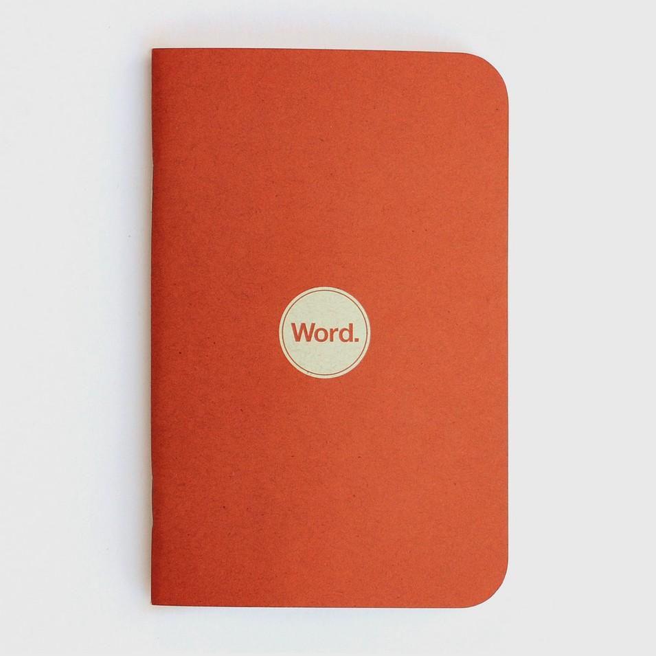 Word. Notebooks 待辦事項清單本-橘(三入裝) | 設計 | Citiesocial