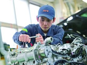 専門学校 静岡工科自動車大学校{自動車システム工学科のイメージ