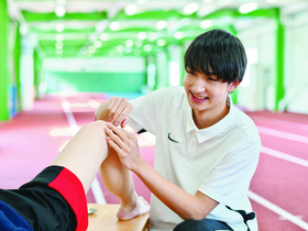 北海道ハイテクノロジー専門学校{スポーツ鍼灸師学科(北海道メディカル・スポーツ専門学校から統合)のイメージ