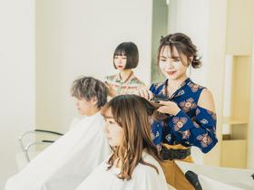 北海道美容専門学校{美容科のイメージ