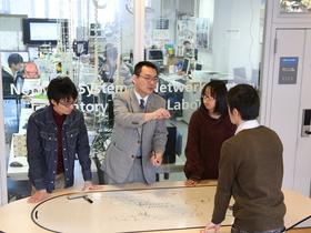 東京情報大学{総合情報学部 ネットワーク・セキュリティ基盤研究室(情報システム学系)のイメージ