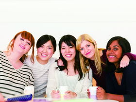 金城学院大学文学部 外国語コミュニケーション学科のイメージ