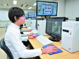 日本電子専門学校{コンピュータグラフィックス研究科のイメージ
