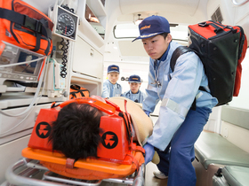 国際医療看護福祉大学校{救急救命士科のイメージ