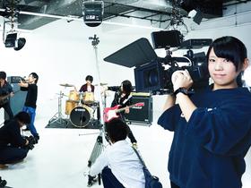 専門学校 名古屋ビジュアルアーツ映像学科 テレビ放送専攻のイメージ