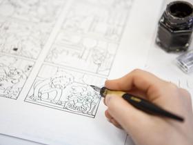 星槎道都大学美術学部 デザイン学科 イラスト・マンガ専攻のイメージ