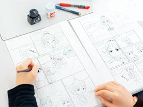 東京デザイン専門学校{マンガ科 ストーリーマンガ専攻のイメージ