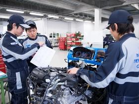 横浜テクノオート専門学校{1級自動車整備科のイメージ