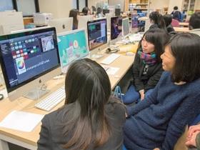 駿河台大学{メディア情報学部 メディア情報学科 デジタルデザイン分野のイメージ
