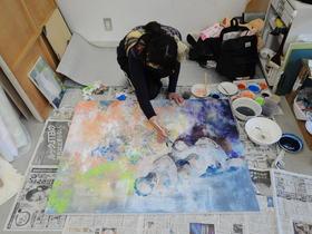 文星芸術大学{美術学部 美術学科 総合造形専攻 日本画のイメージ