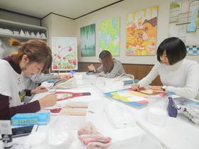 専門学校 札幌デザイナー学院{総合デザイン学科 イラスト・キャラクター専攻のイメージ