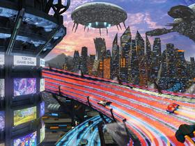 東京デザインテクノロジーセンター専門学校IT・デザイン科 ゲームCGデザイン専攻のイメージ