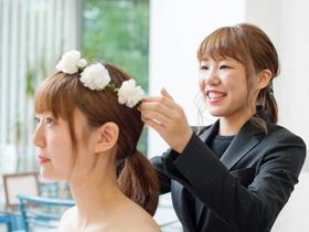 仙台ビューティーアート専門学校美容科 ブライダルコースのイメージ