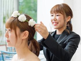 札幌ビューティーアート専門学校{美容科 ブライダルコースのイメージ