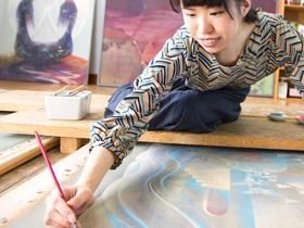 名古屋造形大学{造形学部 造形学科 美術(日本画・洋画・彫刻・コンテンポラリーアート)のイメージ