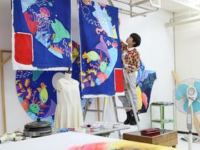 嵯峨美術大学芸術学部 デザイン学科 染織・テキスタイル領域のイメージ