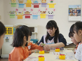 千葉経済大学短期大学部こども学科 保育のイメージ